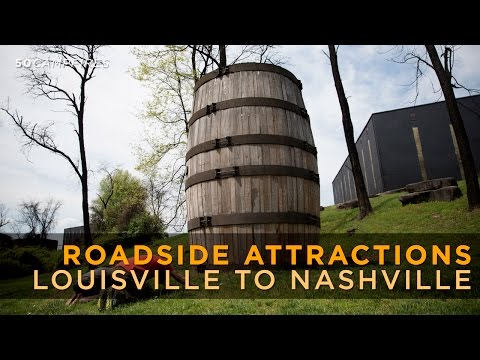 Cool Roadside Attractions From Louisville To Nashville