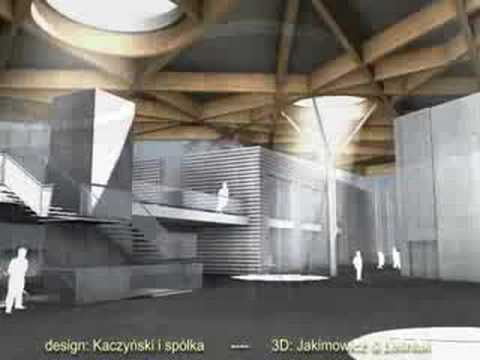 Design concept of the Museum of Nature