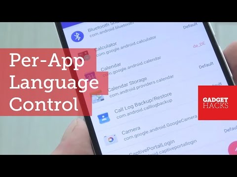 Use A Different Language In Each Of Your Android Apps [How-To]