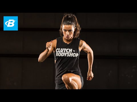 Day 26 | At Home Cardio and Core Workout | Clutch Life: Ashley Conrad's 24/7 Fitness Trainer