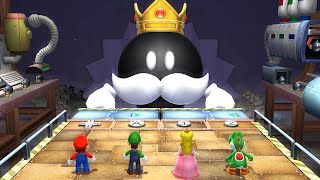 Mario Party 9 Boss Rush - Mario Vs Luigi Vs Peach Vs Yoshi (Master Difficulty)