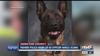 Fishers Police Warn Of Possible K-9 Harlej Donation Scams