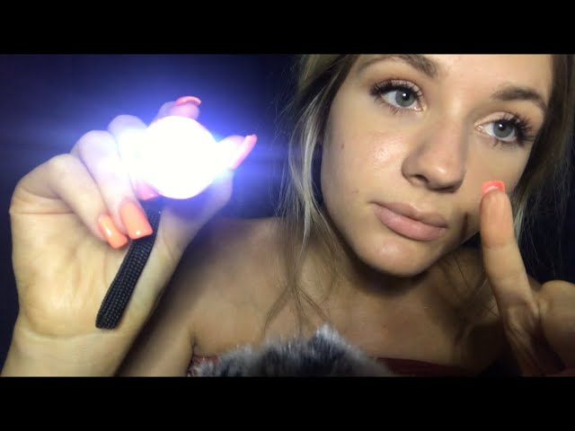 ASMR~ Close Whisper~[Follow The Light~Personal Attention Triggers]