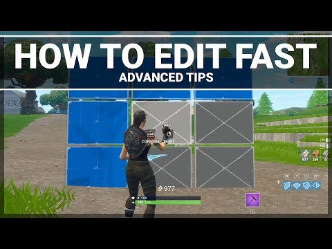 Fortnite: How to Practice Your Editing (Advanced Building Tips)