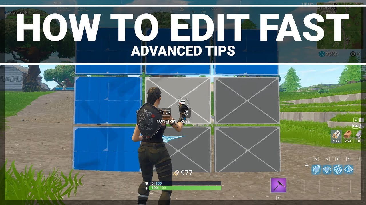 Fortnite: How to Practice Your Editing (Advanced Building ...