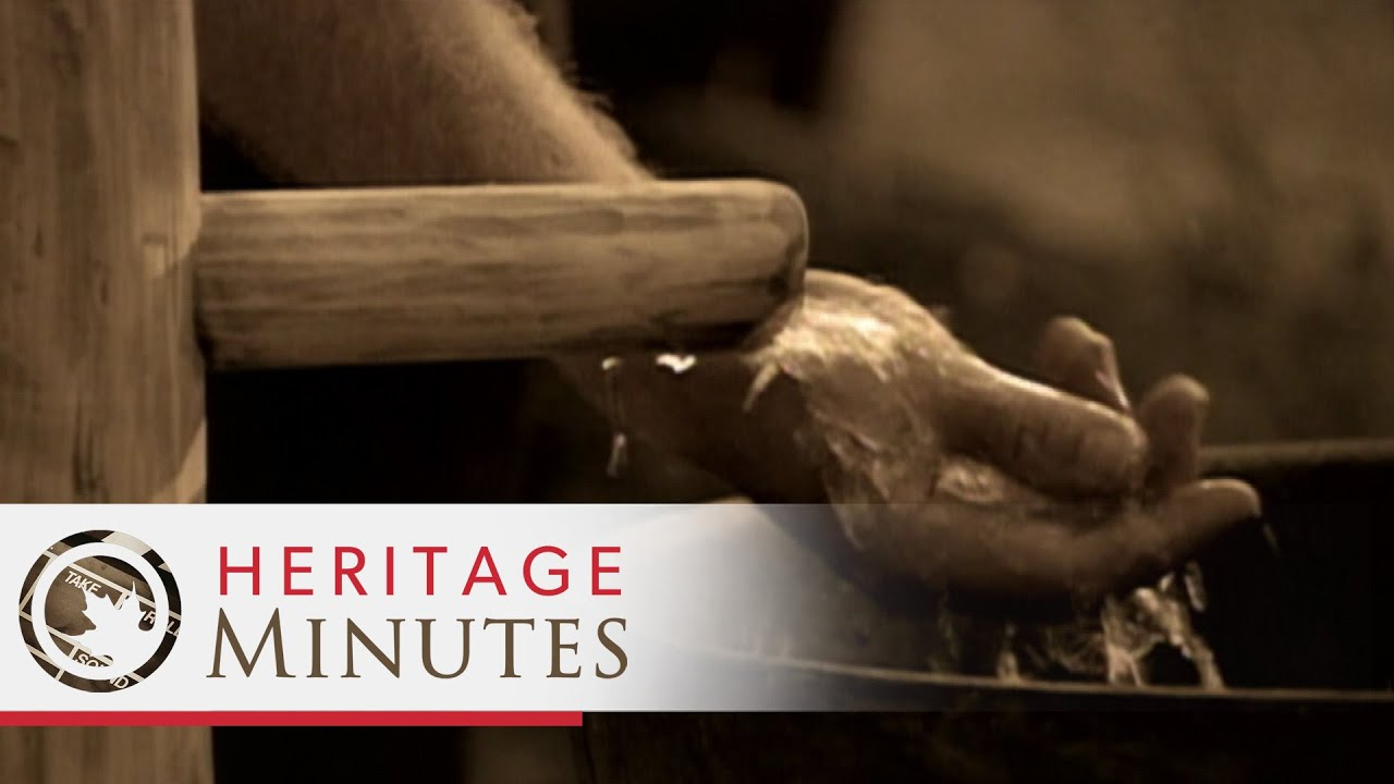 Heritage Minutes: Water Pump