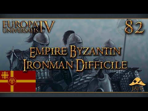 [FR] Europa Universalis IV : The Cossacks - L'Empire Byzantin - Ironman Difficile - 82