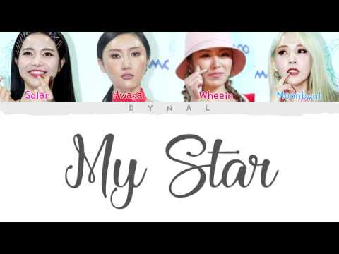 MAMAMOO(마마무) - MY STAR (Color Coded Lyrics Eng/Rom/Han/가사)