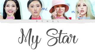 [2.96 MB] MAMAMOO(마마무) - MY STAR (Color Coded Lyrics Eng/Rom/Han/가사)