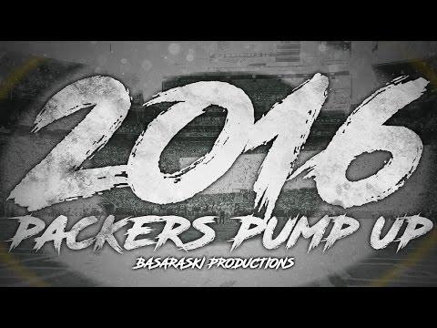 Green Bay Packers 2016 Pump-Up