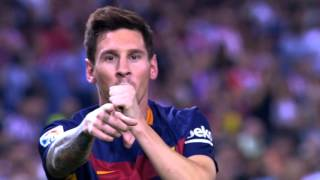 Lionel Messi vs Atletico Madrid (Away) 15-16 HD 720p - English Commentary