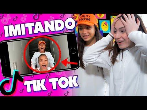 Imitando Lisa and Lena Tik Tok | Sofia Moreno
