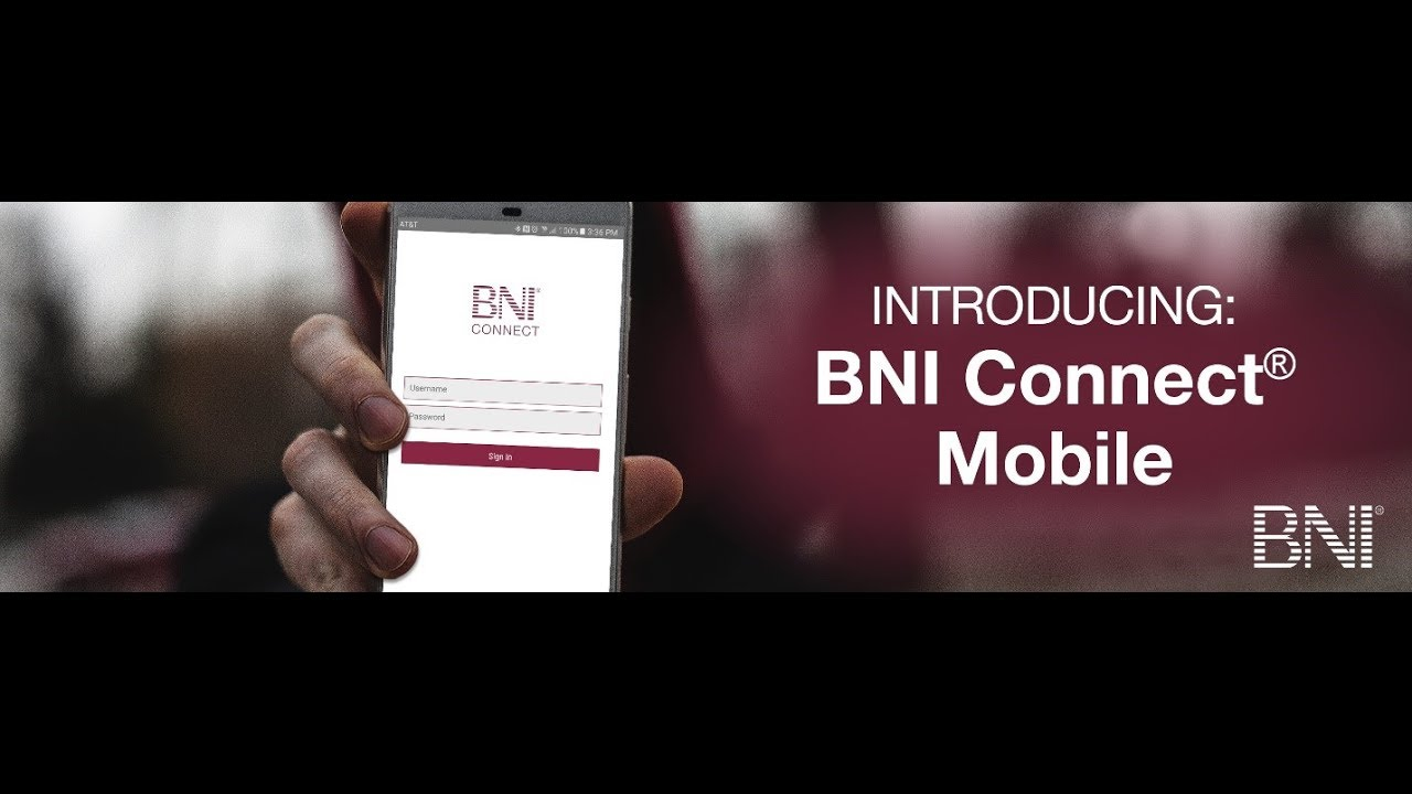 BNI Connect Mobile! App Basics and More (July 2017) - YouTube