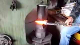 Forging a Pickaxe