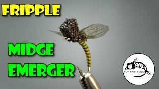 Midge Emerger Fripple - Fly Tying Tutorial by Curtis Fry
