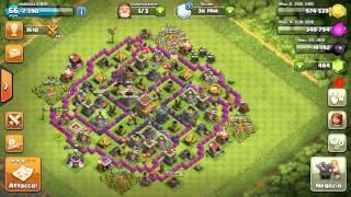 Clash of clans attacchi potenti #1 RE BRACCIO