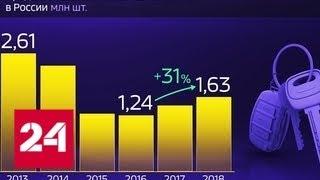 Россия в цифрах. Как восстанавливается рынок легковых автомобилей - Россия 24