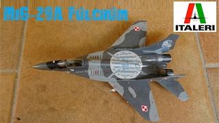 ITALERI MiG-29A Fulcrum 1:72 [Build Review]