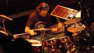 #02 Isaac Dumont from Canada; V-Drums World Championship 2012