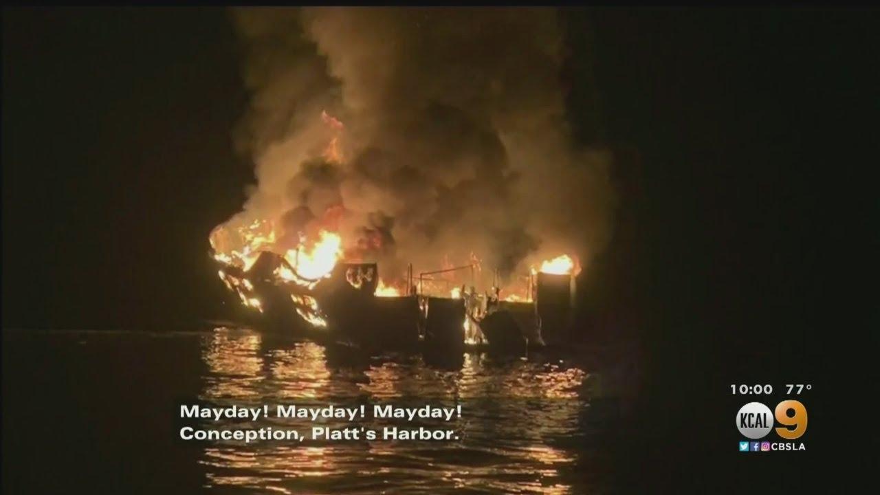 25 Dead, 9 Still Missing In Charter Boat Fire Off Ventura County Coast