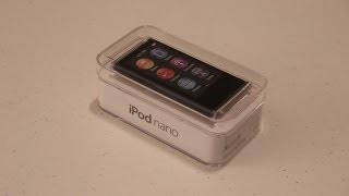 Unboxing: NEW iPod Nano 7th Generation (Slate)