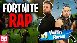 "FORTNITE RAP by JT Music (feat. Fabvl & Divide) - ""Never Give Up"""
