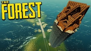 A BEACON OFF THIS ISLAND! - The Forest Creative Mode