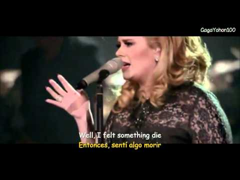 Adele 21 - Set Fire To The Rain Excelente (Lyrics - Sub Español) - YouTube
