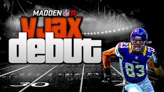 Madden NFL 15 Ultimate Team -  FLASHBACK VJAX Debut! Vick Takes Over!  -  MUT 15