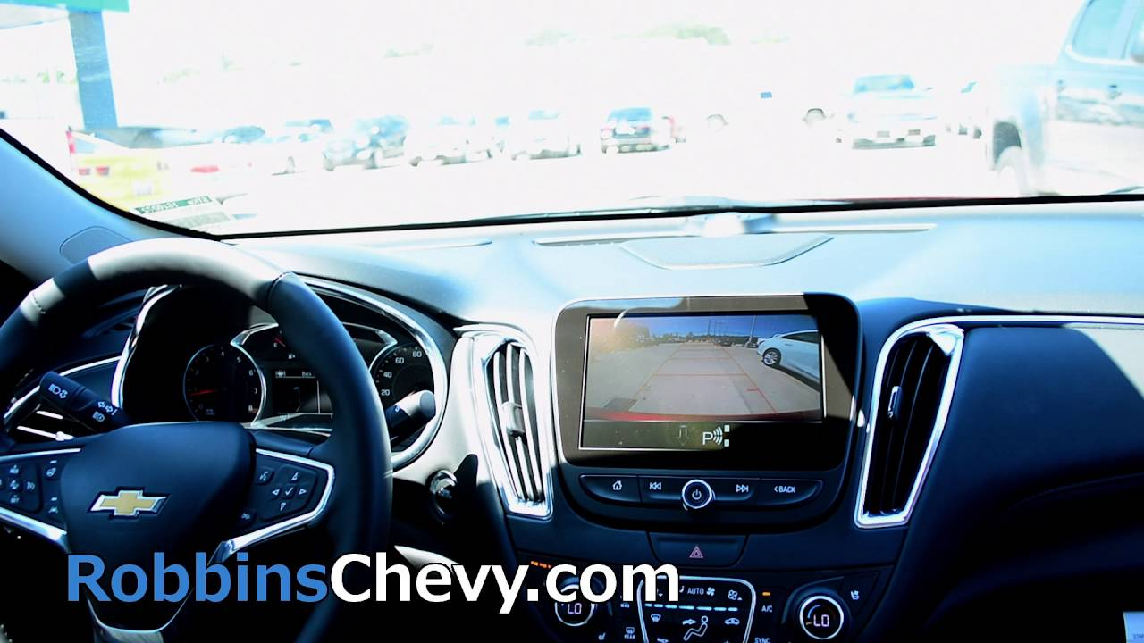 New 2016 Chevy Malibu Interior Features
