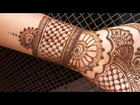म ह द ह न ड ज इन Mehndi Design Step By Step Latest Traditional Full Hand Mehndi Design 2018