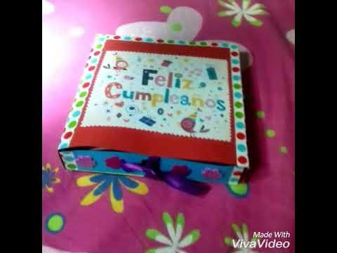 regalo para mi mejor amiga por su cumplea os caja