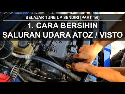 Self Tune Up Service for Beginners # 1 AIR FILTER EFI Engine Hyundai Atoz Visto Anti Lack Machine