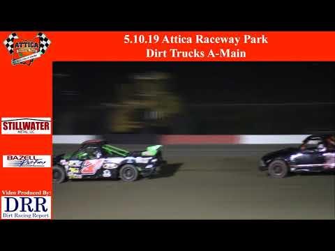 5.10.19 Attica Raceway Park Dirt Trucks A-Main