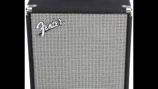 Fender Rumble 25 Bass Amp Demo/Review