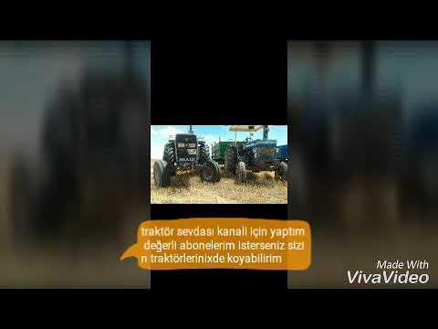 Traktör Sevdası Kanalına özel Hazırlanmıs bir video dilerseniz sizin traktörlerinizde paylarsırım.