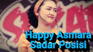 Gambar cover Happy Asmara - Sadar Posisi (Video Lyrics)