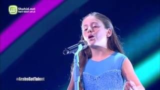 إيمان بيشه تفوز بالموسم الخامس من Arabs Got Talent برائعة أندريا بوتشيلي Con te partirò