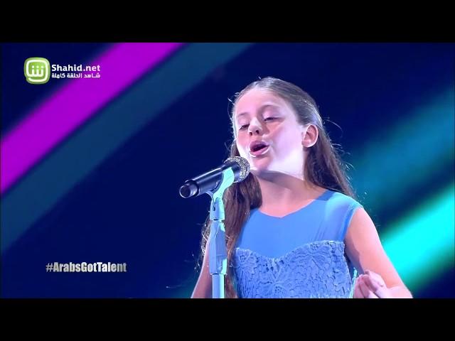 طفلة أردنية تنال لقب الموسم الخامس من برنامج Arabs Got Talent