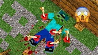 MARK FRIENDLY ZOMBIE BREAKS EVERY BONE INSIDE HIS BODY !! ZOMBIE APOCALYPSE MOD !! Minecraft