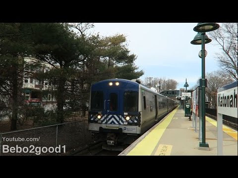 Metro-North Harlem Line Trains at Katonah, NY RR with Horn Blast (M3A/M7A)
