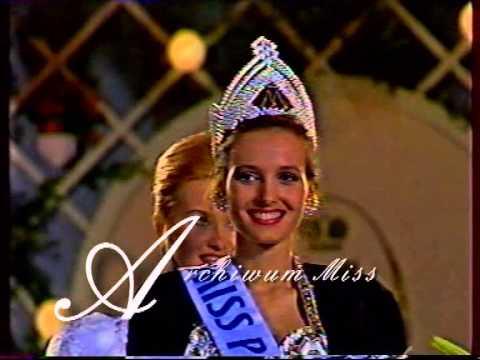 Koronacja Miss Polska 1991