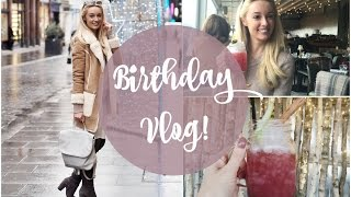 What I did on my Birthday!  VLOG  |  Fashion Mumblr