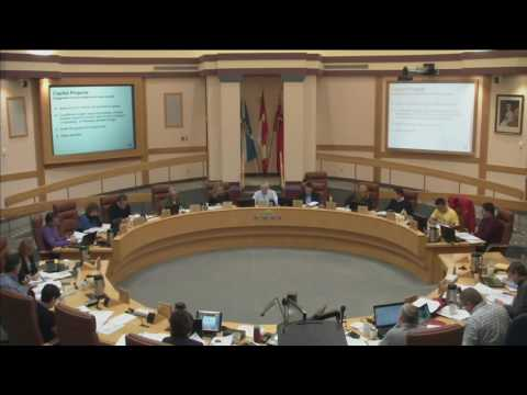 2017 Capital Budget General Committee Session from October 15, 2016 Part 2