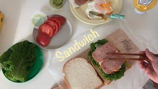 (ENG) 첫눈   키친크로스•샌드위치 만들기   다이…
