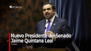 Discurso senador Jaime Quintana Leal - Nuevo Presidente del Senado