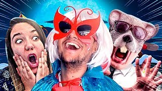 VIREI UMA SUPER HEROÍNA?😚 ft. Ratão & Malena