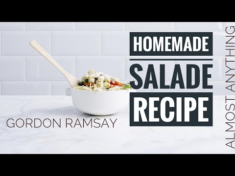 Stunning Salad Recipe By gordon Ramsay - Almost Anything