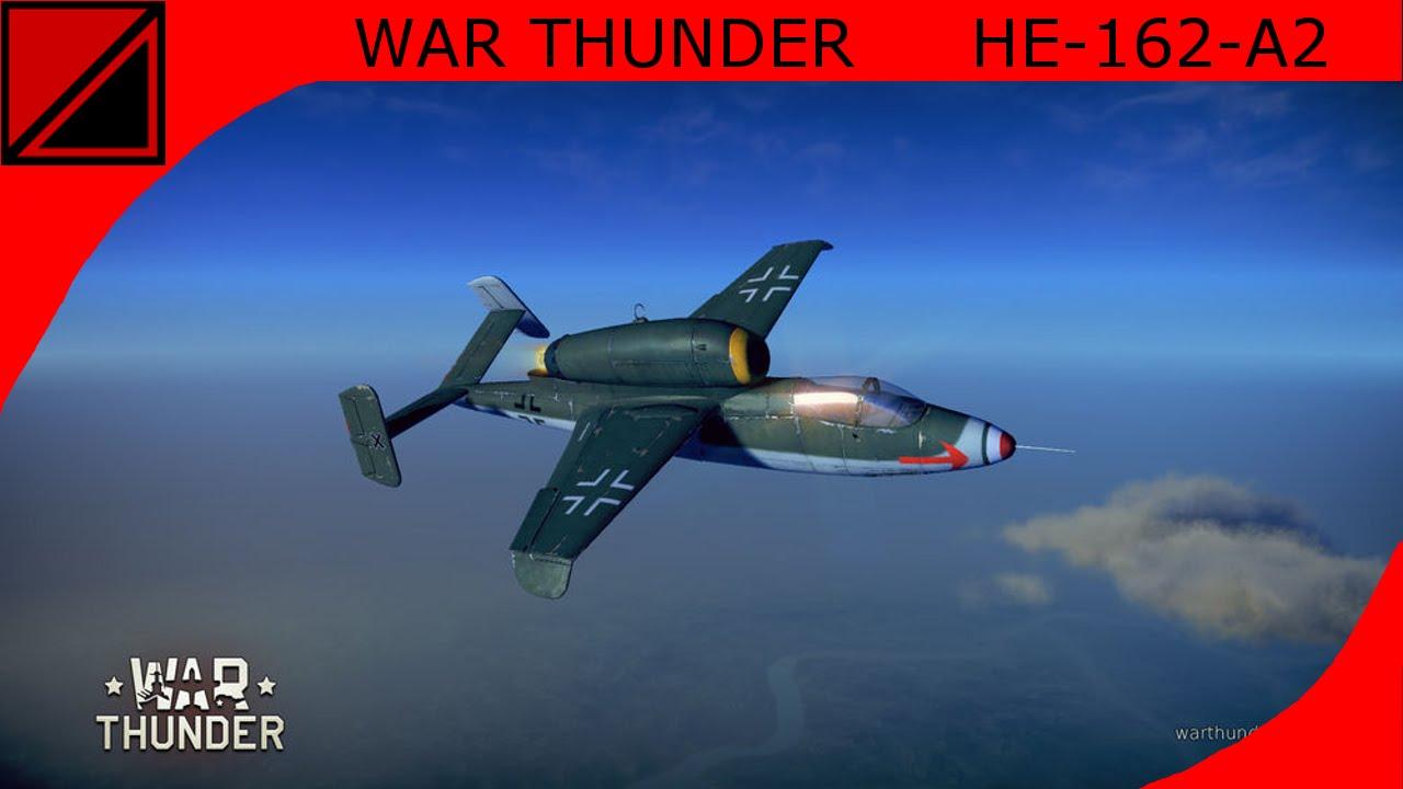 war thunder he 162