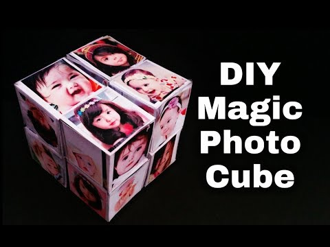 Magic Photo Cube Tutorial | DIY - Magic Photo Cube